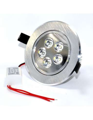 Downlight Empotrable 5x1W