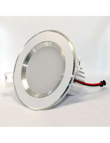 Downlight Empotrable 9w aro blanco