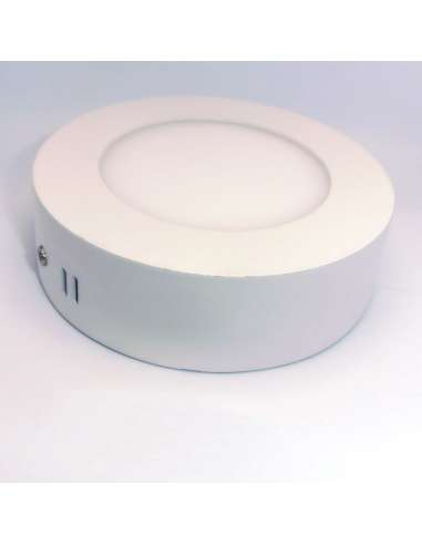 Downlight de superficie 6w  Redondo