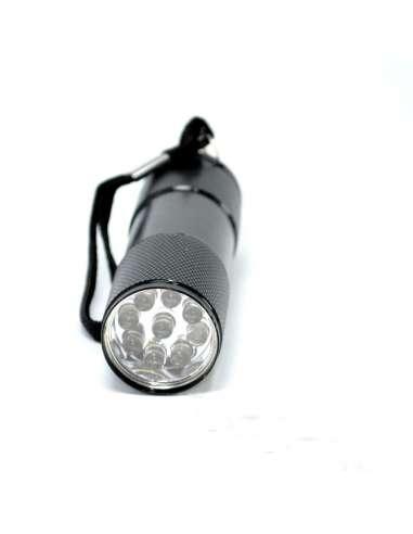Linterna aluminio 9 Led