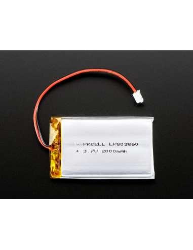Pack batería Litio Ion 3,7v 2000mAh