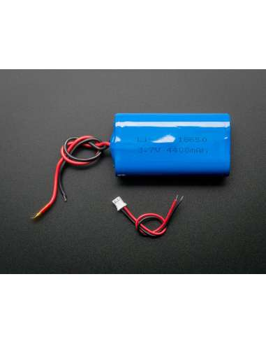 Pack batería Litio Ion 3,7v 4400mAh