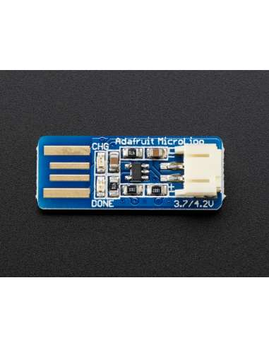 Micro Cargador USB de baterias Li-Ion
