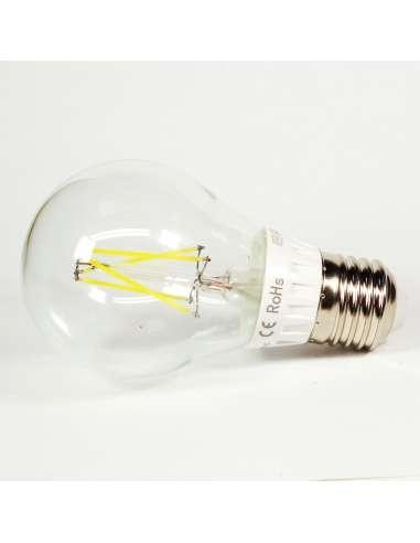 Bombilla Led E27 6W Filamento Luz Fría