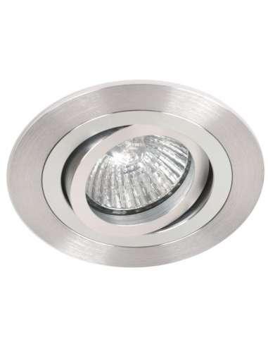 Aro empotrable basculante redondo Aluminio