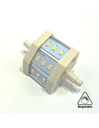 Lineal Led R7S 5W 78mm Regulable