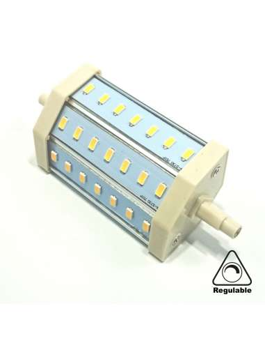 Lineal Led R7S 10W 118mm Regulable