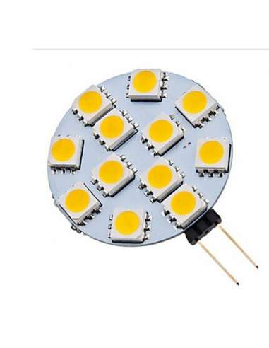 Bombilla G4 2,5w  12 leds 5050 lateral