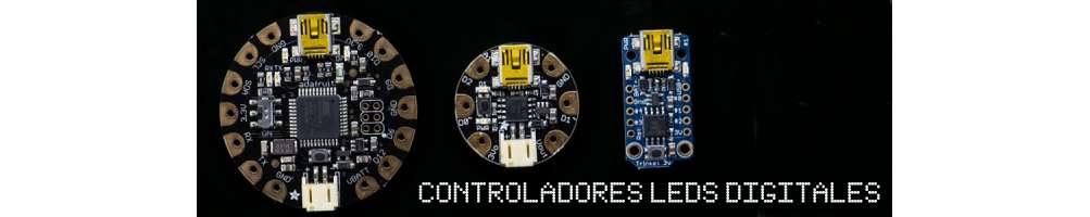Controladores de Leds digitales