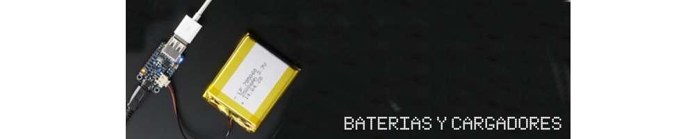 Baterías y cargadores para leds digitales a 5V